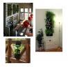 China ブラウンを、ダーク グレーまたはrequeとして袋/植木鉢プランター屋外の屋内27x54cm植える掛かる園芸植物の付属品 wholesale