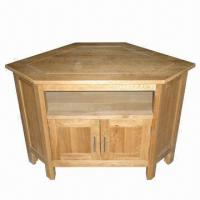 China TV Cabinet/Stand, Made of Solid Oak, Also Available for Corner Cabinet wholesale