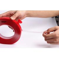 China Removable Transparent Adhesive Tape Film , Industrial Strong Double Sided Sticky Tape on sale