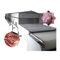 China 100KW Frozen Meat Continuous Tunnel Dryer Machine With Microwave Box wholesale