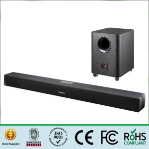 China Bluetooth 2.1 Sound Bar Wireless Subwoofer , Tv Sound Bar Speaker 80Hz-16KHz Frequency wholesale