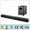 China Portable Soundbar Wireless Subwoofer , Bluetooth Soundbar Speakers 110W Output wholesale