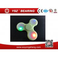 China Colorful LED Light  Hand Spinner Fidget Toy For Adults High Qualtiy wholesale