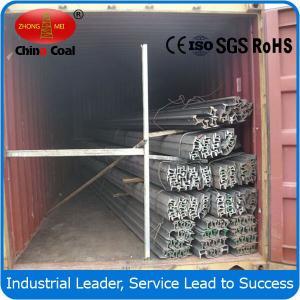 China Steel rail factory! 15kg/m light steel rail wholesale