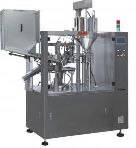 China High Speed Tube Filling Sealing Machine 75 / Min / Max 2.5 X 1.2 X 2.4M Size wholesale