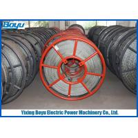 Buy cheap 28mm 480kN 12 Strands Anti twisted Galvanized Braided Steel Wire Rope Overhead from wholesalers