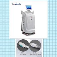 Buy cheap model number SH-1 vertical model two handles super hair removal machine ipl+rf from wholesalers