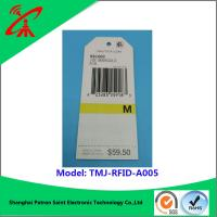 China paper Printable Rfid Labels For garments Euro standard new style and high quality clothing paper rfid tag wholesale