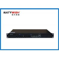 China Triple - Play OLT Optical Line Terminal , Black Color 4 Ports 1.25G Small OLT GEPON wholesale