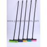 Four Ft  Wooden Handle Plastic Scrub Brush Plastic Broom Stiff Brush