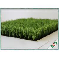 China 14500 DTEX Sports Soccer Artificial Grass Durability With 8 Years Warranty wholesale