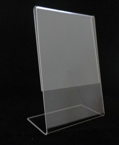 Acrylic Stand Up Sign Holder Images