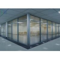 China Innovative Aluminium Glass Partition For Customisable Office Design wholesale