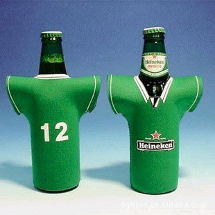 Quality Silkscreen Printing Eco-friendly Neoprene beer holder for sale