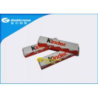 China Optimum Flatness Chocolate Foil Paper Wrappers For Chocolate Bar 1 - 10 Colors Printing wholesale