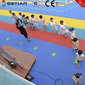 China Modular Sports Flooring For Outdoor Field Kindergartener Playground wholesale
