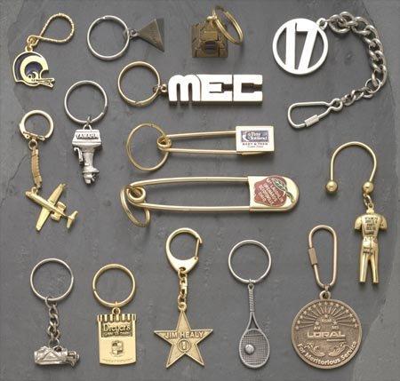Retractable Key Chain Metal