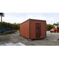 China Fireproof Movable Prefabricated Container House With Sandwich Panel wholesale