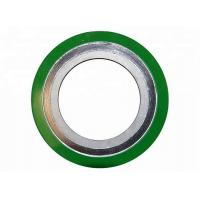China Basic Type Round Ss Spiral Wound Gasket Inner Ring Gasket With Non Metallic Filler on sale