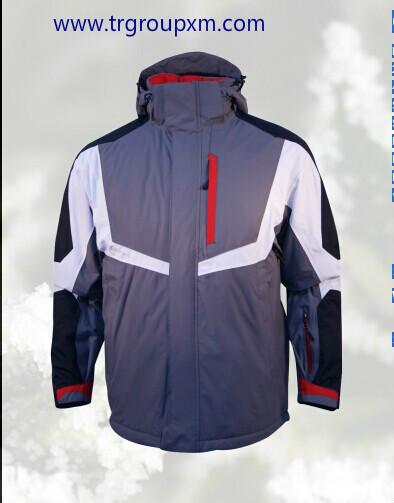 Quality Men's Eddie Bauer Black Weather Edge 100% Nylon Jacket Size XL (TALL) for sale