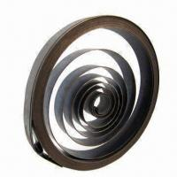 China Constant Force Spring, Ideal for Lifting, Garage Door, Car Door and Watch wholesale