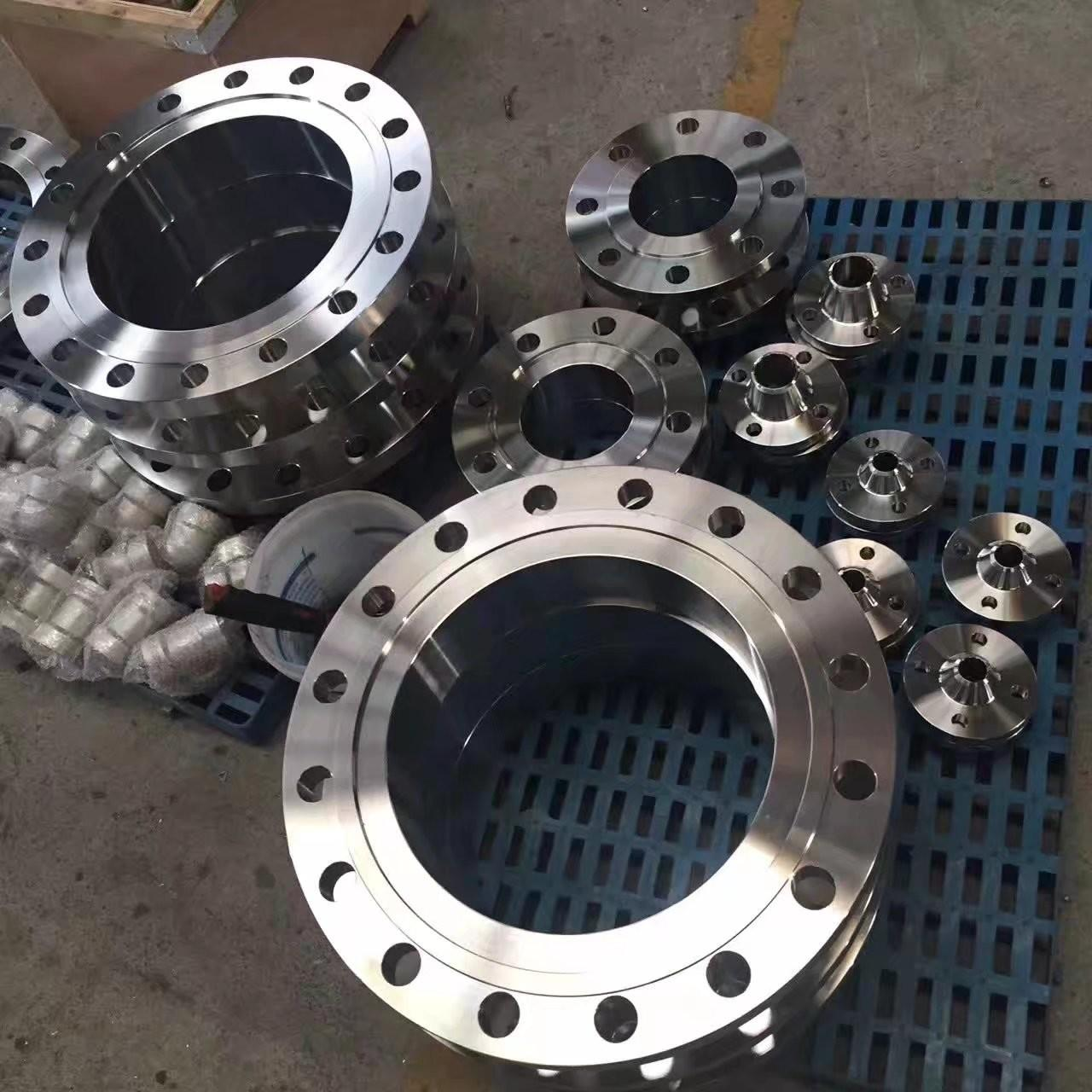 China ASME B16.47 Flat Face Weld Neck Flange , Long Weld Neck Flange 300lbs Pressure  Ameriforge/Coffer/Texas Metals (USA), wholesale