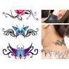 China Long Lasting Removable Body Tattoo Body Art Temporary Tattoo Sticker wholesale