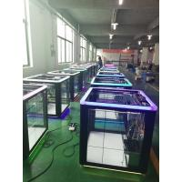 China Cube Shape Gift Game Machine , Toy Grabber Claw Machine For Entertainment Cente wholesale