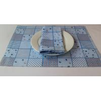 China Durable Plain Cotton 125gsm Dining Table Mats 45x30cm For Bar / Car wholesale