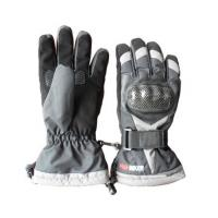 China Warm Motorcycle Winter Gloves Nylon Winter Cycling Gloves With Cotton Filler wholesale