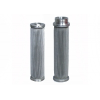 China Silver Stainless Steel 304 10um Sintered Mesh Filter For Oil Filter wholesale