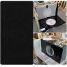 China Black Natural Granite Countertops , High Density Solid Black Granite Countertops wholesale