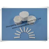 China Absorbent Disposable Medical Cotton Roll , Plain Wrapped Dental Disposable Products wholesale