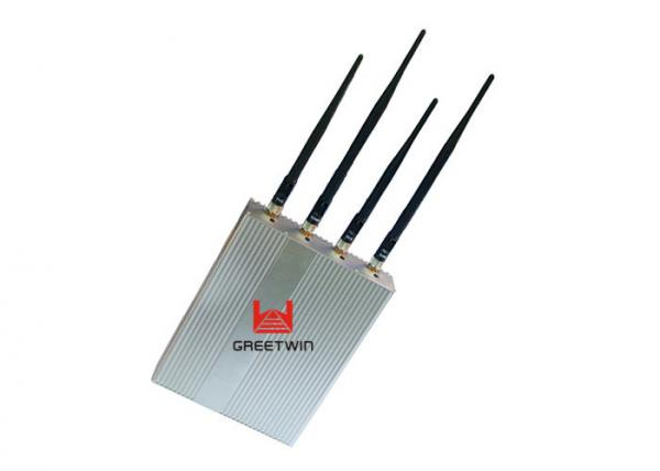 Quality GSM Cell Phone Disruptor Jammer , Mobile Cell Phone Jammer Device 4G for sale