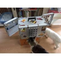 Buy cheap Household Aluminum Dog Cage for Car / Pet Grooming Cage Carrying Case from wholesalers