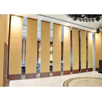 China Room Movable Walls Bi Fold Glazed Internal Doors For Office 100mm Panels wholesale