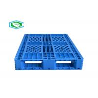 China HDPE Basic Large Heavy Duty Nestable And Rackable Euro Plastic Pallets Single Face wholesale