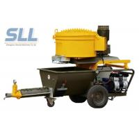 China Electric Epoxy Wall Putty Sprayer / Cement Mortar Plastering Machine 2.2kw Power wholesale