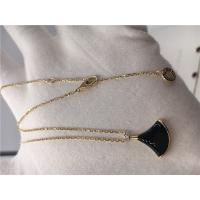Buy cheap Black Pendant Necklace 18K Yellow Gold , Black Gemstone Necklace With Onyx Pendant from wholesalers