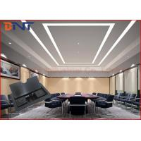 China Double Power Pulling Table Cable Cubby For Conference Desktop AV Solutions wholesale
