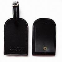 China Luggage Tags, Made of Plastic, Suitable for Nominal Quotations wholesale