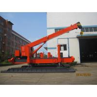 China Robot Hydraulic Pile Driver For Soft Soil Pile Foundation Energy Saving wholesale