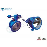 China Ductile Iron Butterfly Buffer Stop Check Valve PN 25 Bar For Industrial Water Supply wholesale