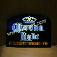 China Corona Beer Bar Sign with Moved Message wholesale