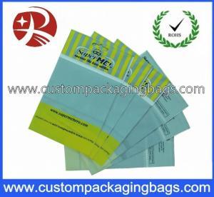 Clear Printed OPP Custom Packaging Bags With Header Self-adhesive Material
