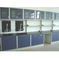 China Wood Chemistry Lab Furniture 16 Mm Chipboard Cabinet Easy Operating wholesale