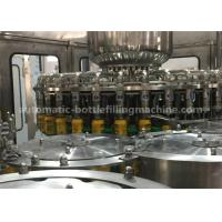 Buy cheap Rotary Automatic Juice Bottle Filling Machine Washer Filler Capper Monobloc Machine from wholesalers