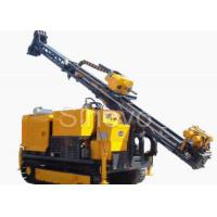 China Hydraulic Crawl Diamond Core Drilling Machine , Drilling angle 60° - 90° wholesale