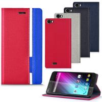 China Wiko Lenny Cover Case / Flip Smartphone Protective Case Back Cover Plain color wholesale