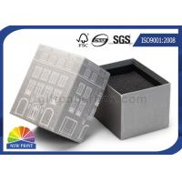 China Custom Die - cut Foam Inserts 2 Piece Rigid Paper Box For Gifs Packaging wholesale